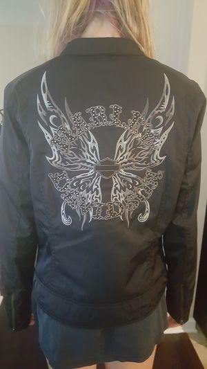 Ladies Small Harley Davidson full zip Motorcycle jacket for Sale in Orange Park, FL