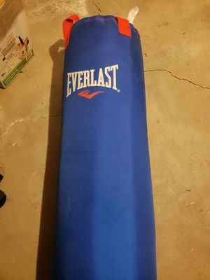 Everlast training bag for Sale in Thornton, CO