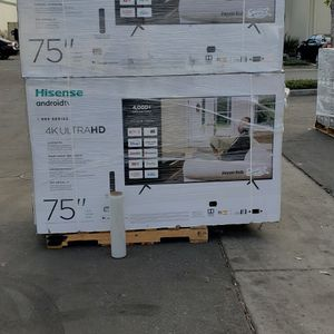 """75H6570G 75"""" HISENSE UHD 4K ANDROID for Sale in Chino, CA"""