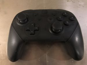 Nintendo Switch Pro Controller with cable and packaging for Sale in Seattle, WA