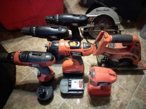 Assorted cordless tools for Sale in Pittsburgh, PA