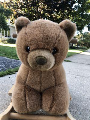 Stuffed bear rocker for Sale in Crystal Lake, IL