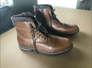 Men's Brown boot shoes. for Sale in Fayetteville, NC