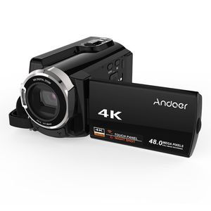 Andoer HDV-534K 4K 48MP WiFi Digital Video Camera 1080P Full HD Novatek 96660 Chip 3inch Capacitive Touchscreen IR Infrared Night Sight Support 16X Z for Sale in Whittier, CA