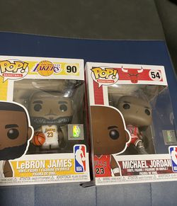 Funko Pop Michael Jordan & Lebron 30 For Both!!! UNOPENED!! for Sale in Garden Grove,  CA