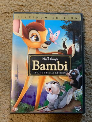 Bambi 2 Disk Platinum Edition for Sale in Wayne, PA