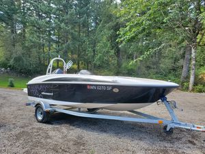 2014 Bayliner Element 16' w/Tube for Kids! for Sale in Bremerton, WA