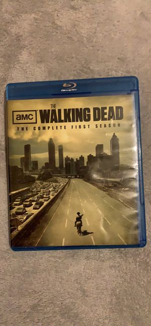 The Walking Dead complete first season blu-ray for Sale in Avis, PA
