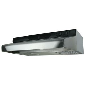 Air King Deluxe Quiet ENERGY STAR 30 in. 280 CFM Under Cabinet Ducted Range Hood with LED Light in Stainless Steel for Sale in Modesto, CA