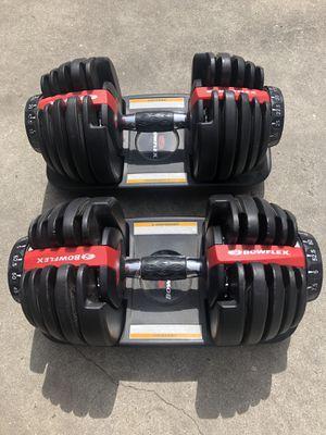 Bowflex Adjustable Dumbbells for Sale in Cudahy, CA