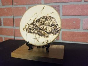 Turtle burned on wood for Sale in New Britain, CT