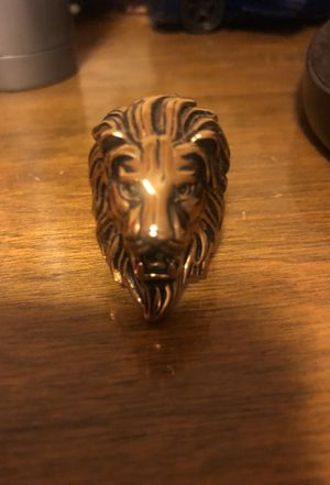 Lion Ring for Sale in Mount Rainier, MD