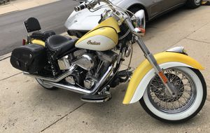 Indian motor cycle with s&s motor 2003 with Indian Roadmaster 900 miles one owner bike.$9300 no trades!!! ❤️ for Sale in Chicago, IL
