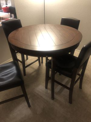 High round table and 4 chairs $50 for Sale in Peoria, AZ