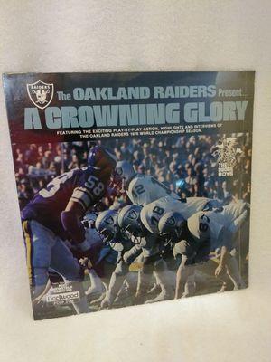 1977 Vinyl LP of Oakland Raiders World Championship 1976 Season & SB XI for Sale in San Jose, CA