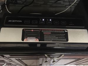 Vacuum sealer by Geryon New Open Box for Sale in Lake View Terrace, CA