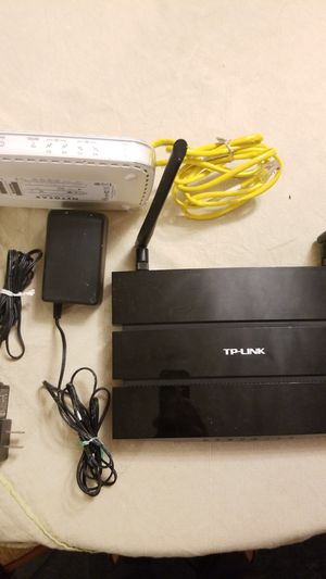 TP-Link AC1200 wifi router + Netgear CMD31T cable modem for Sale in San Diego, CA