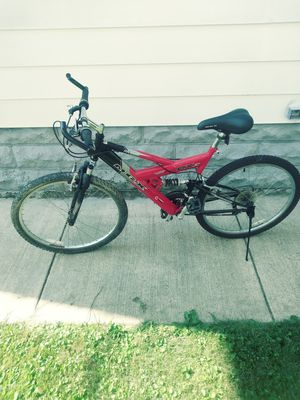 Moongoose mgx 26 inch dual suspension bike for Sale in Erie, PA