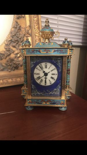 Handmade Chinese antique clock box for Sale in Murray, UT