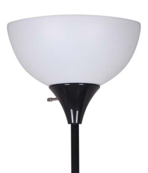 """71"""" Metal Floor Lamp, Black for Sale in Houston, TX"""