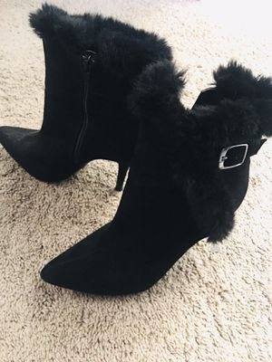 7.5 women skinny heels ankle boots for Sale in Fresno, CA