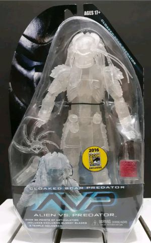 Exclusive Neca SDCC 2016 Cloaked AVP Scar Predator Collectible Action Figure Toy for Sale in Chicago, IL
