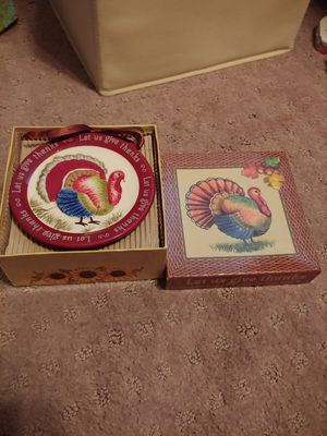 Turkey mini plates(4) for Sale in Henderson, NV