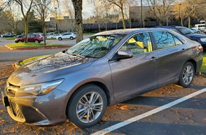 Toyota Camry 2015 SE Toyota Certified Used Vehicle & Toyota Certified Platinum Coverage for 100,000 miles / next 31 months till 07/09/22 included for Sale in Issaquah, WA