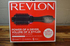 Revlon One-Step Hair Dryer and Volumizer Hot Air Brush Pink RVDR5222 for Sale in Diamond Bar, CA