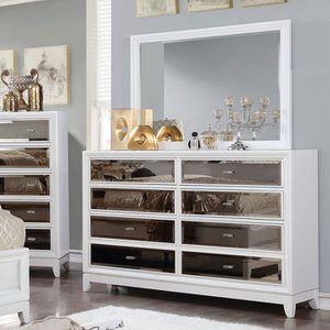 New Mirrored Dresser. Silver. Free Delivery! for Sale in Santa Monica, CA