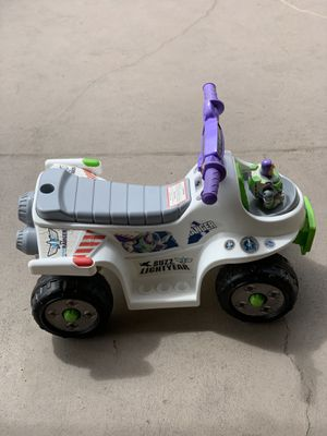 Buzz Lightyear Electric Lil Quad 6v (12-36 months) for Sale in San Lorenzo, CA