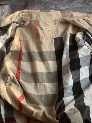 Burberry size large long sleeve for Sale in Columbus, OH