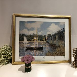 Claude Monet - The Bridge at Argenteuil for Sale in Chicago, IL