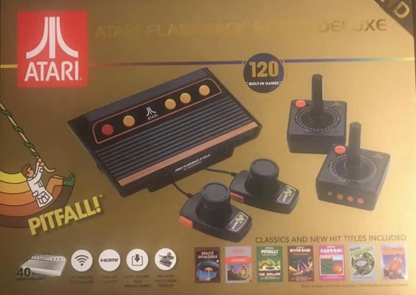 Atari Flashback 8 Gold Deluxe - New in the box, still sealed!