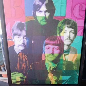 BEATLES CANVAS WALL PICTURE. for Sale in Columbus, OH