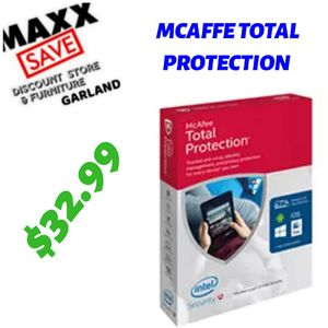 MCAFFE TOTAL PROTECTION for Sale in Garland, TX