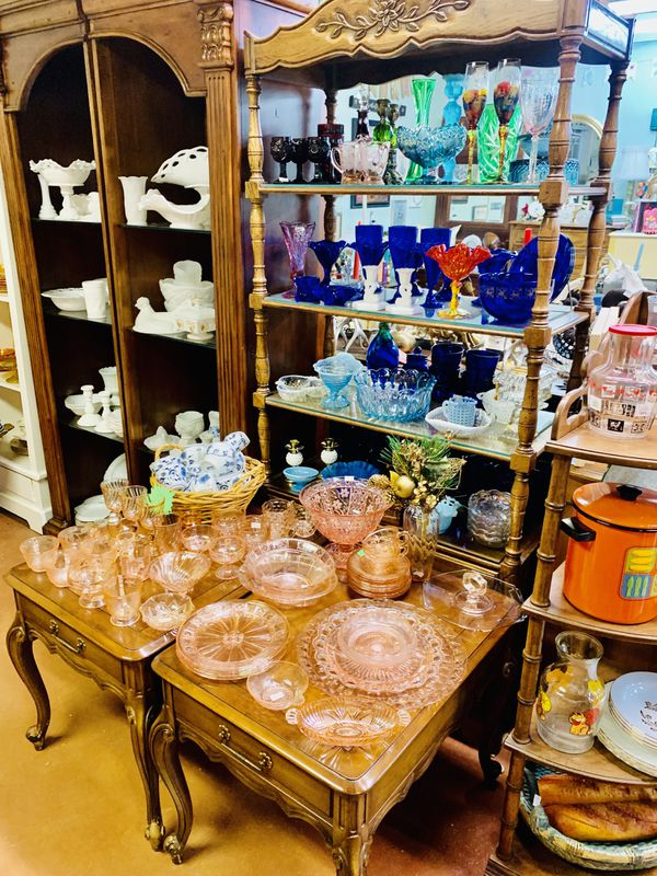 Ginormous vintage glass, Pyrex, kitchenware, retro home decor, artisan sale