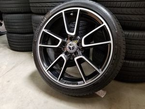 """C43 AMG 19"""" Mercedes Wheels Rims Tires for Sale in Los Angeles, CA"""