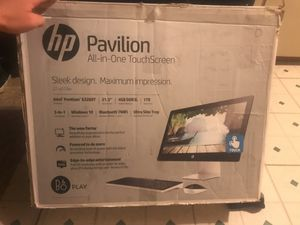 Hp pavilion all in one touch screen for Sale in Corpus Christi, TX