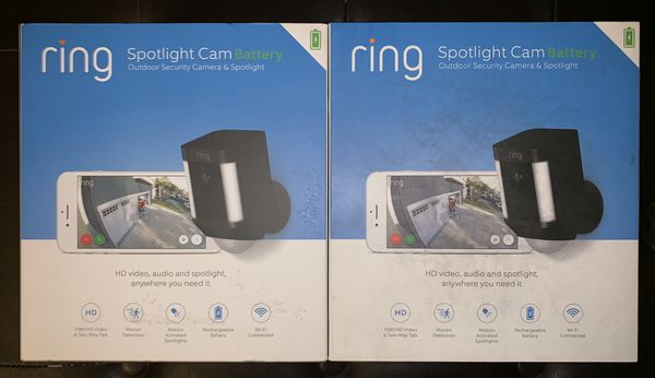 2 Ring Spotlight Cam Battery Wireless