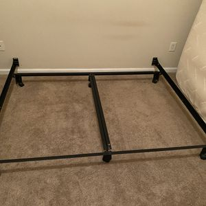 King Size Metal Frame And Box Spring for Sale in Cary, NC
