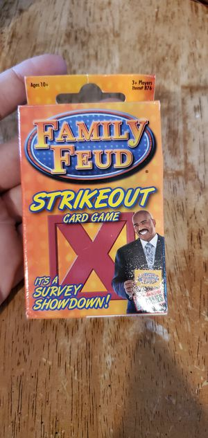 Fremantle Family FEUD Strikeout Card Game for Sale in Las Vegas, NV