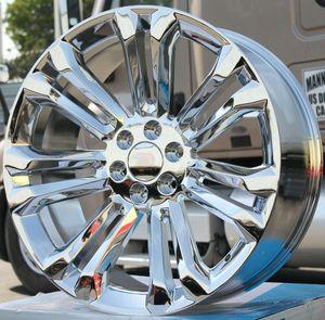 "Brand New 24"" Rep29 6x139.7 Chrome Wheels for Sale in Miami Springs, FL"