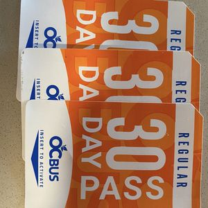 OC BUS PASS 30 DAY for Sale in Orange, CA