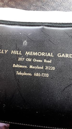 2 Cemetary plots in veterans section in Holly Hills Cem. White Marsh, Md. for Sale in Kernersville, NC