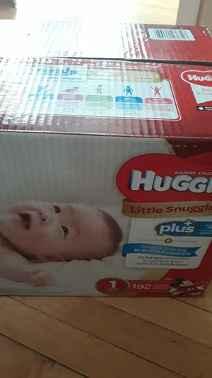 Huggies 192Count for Sale in Chicago, IL