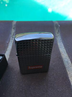 New Supreme Zippo Lighter In Box for Sale in San Gabriel, CA