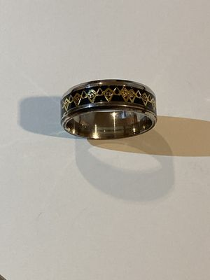 Unisex Uniquely Designed Stainless Steel Ring ^><^ for Sale in Houston, TX