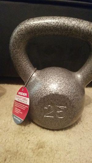 Weider 25lb kettlebell for Sale in Richardson, TX