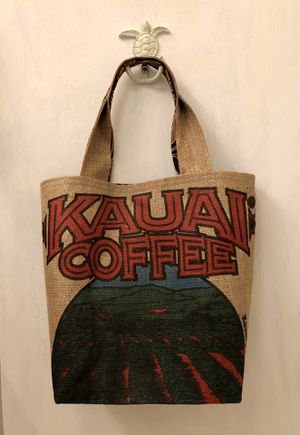 Handmade Authentic Coffee Bean Bag Tote for Sale in Folsom, CA